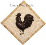 rooster-mini-medallion-mosaic-stone-and-metal-back-splash-150