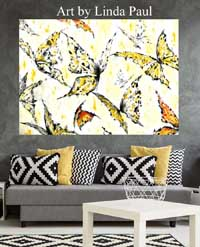 custom butterfly wall art small